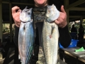 New diver Todd McManus (MW) with a good Bonito (1645g) & Salmon (1715g)
