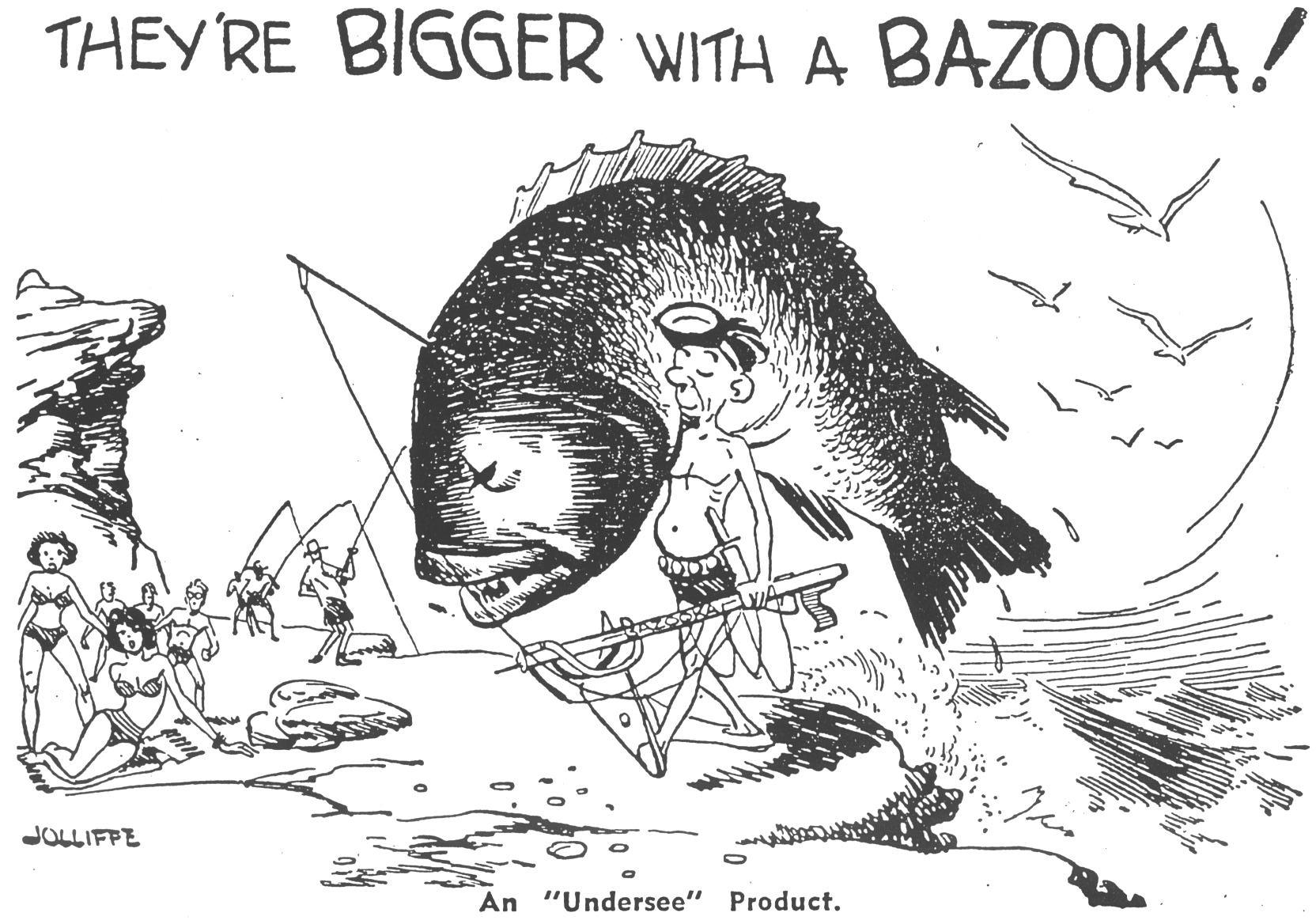 Bazooka Advertisement
