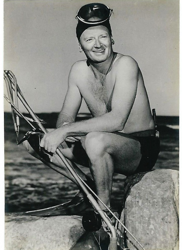 Famous Australian cartoonist Eric Jolliffe