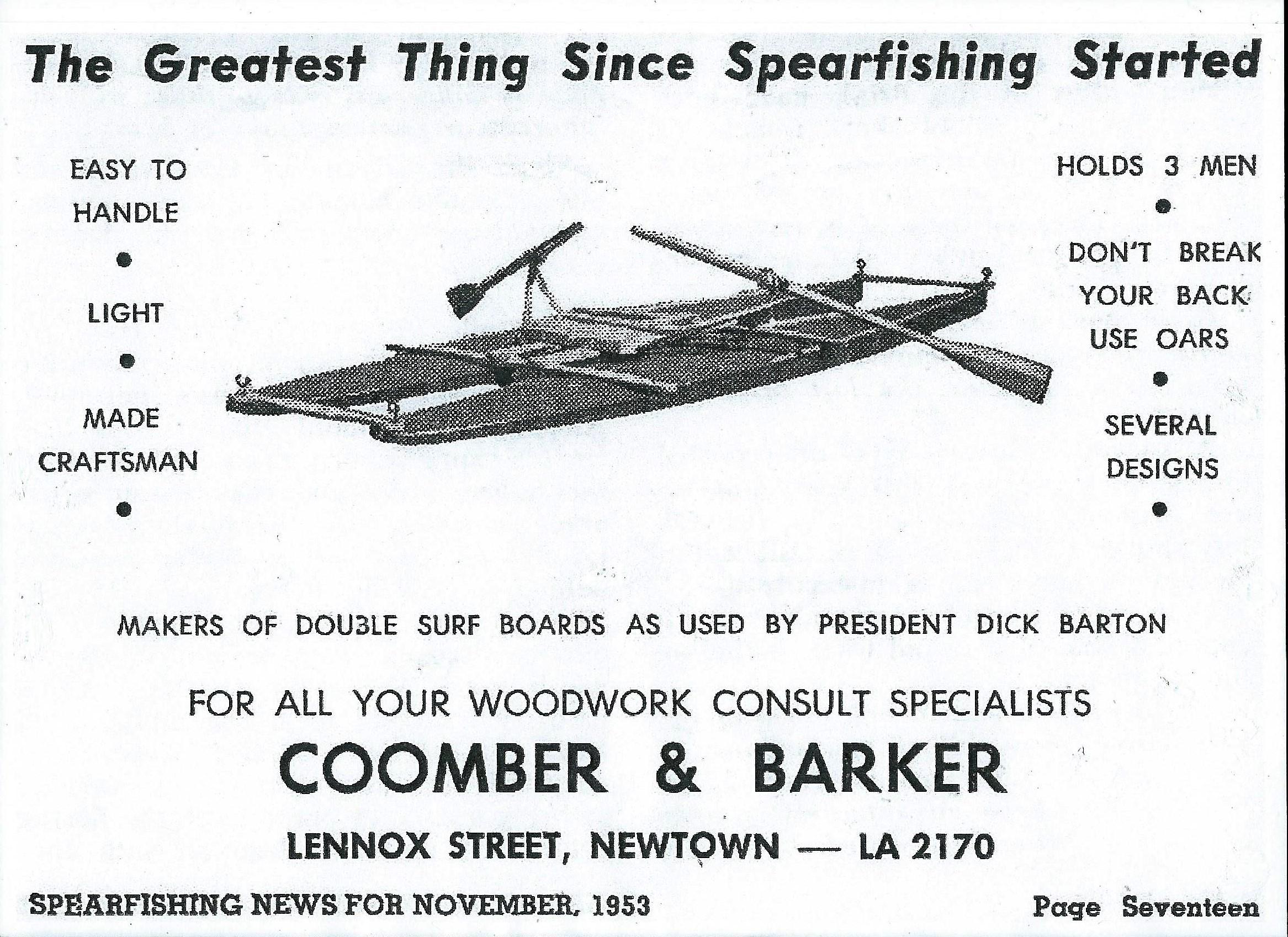 Rowfloat Nov 1953